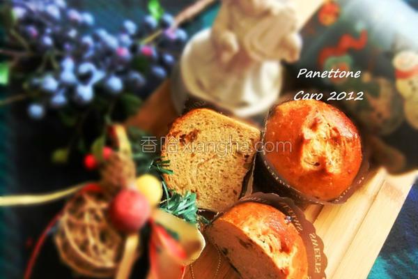 圣诞果干面包的做法