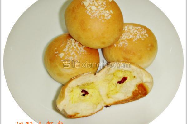 奶酥小面包的做法