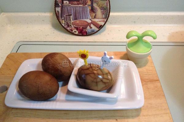 黄耆茶叶蛋的做法