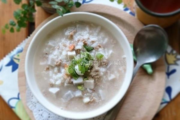 古早味芋头粥的做法