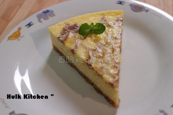 中乳酪蛋糕的做法