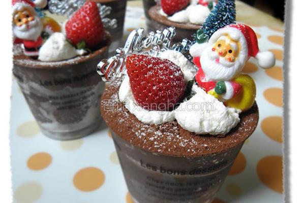巧克力慕斯杯的做法