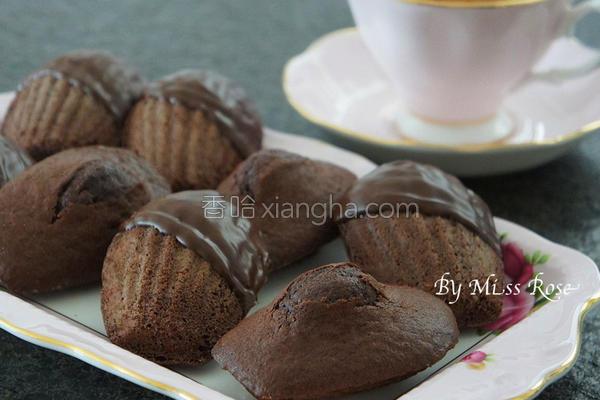 巧克力玛德莲蛋糕的做法