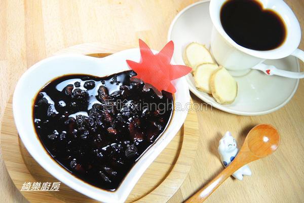 生姜桂圆黑糖蜜的做法