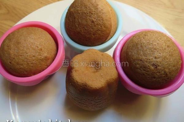 蒸米禄炼奶小蛋糕的做法
