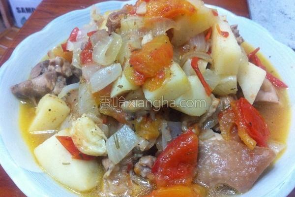 地中海式番茄鸡的做法