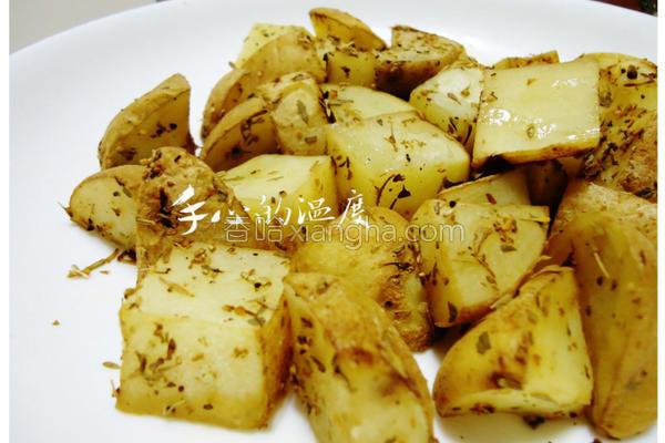 迷迭香马铃薯块的做法