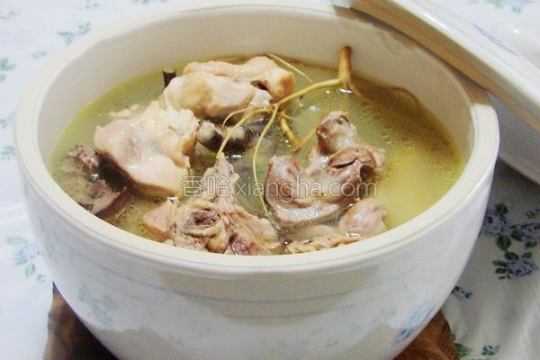 狗尾草鸡汤的做法