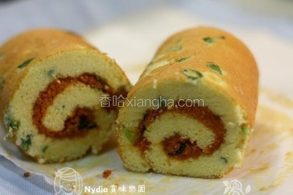 葱花蛋糕卷