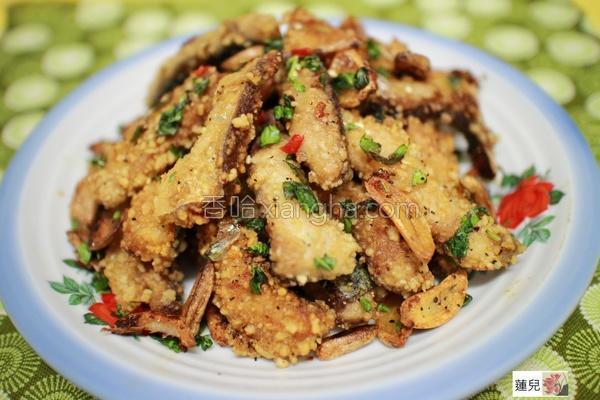 蒜香鲭鱼条的做法