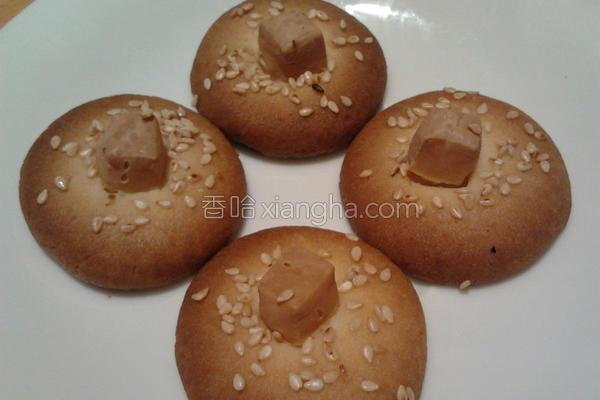 白芝麻起司咸饼干的做法