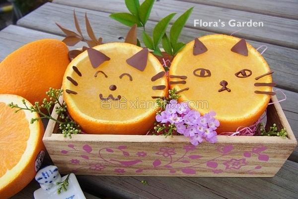猫咪香橙银耳冻的做法
