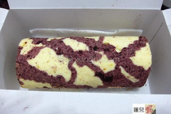 桑椹酱蛋糕卷的做法