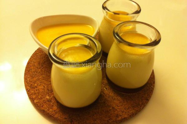 焦糖豆浆布丁的做法