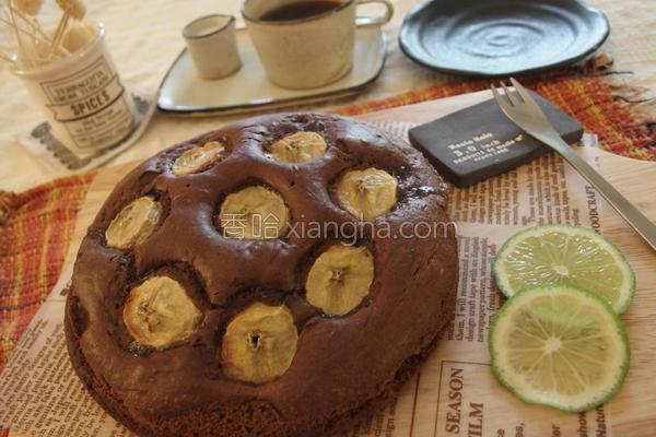 苦甜黑巧克力蛋糕的做法