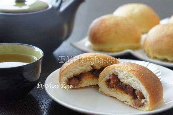 叉烧墨西哥面包的做法
