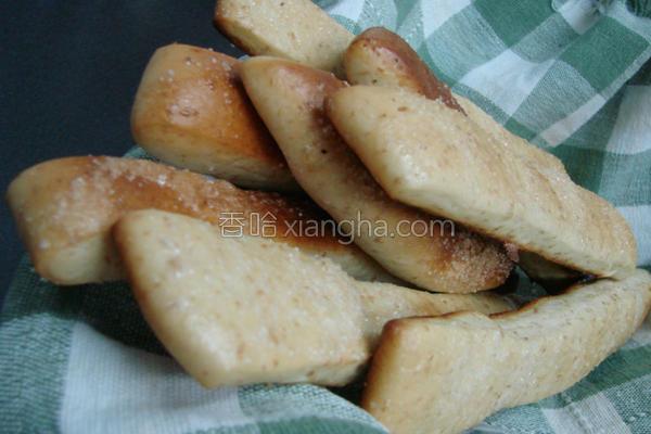 全麦糖霜牛奶面包的做法