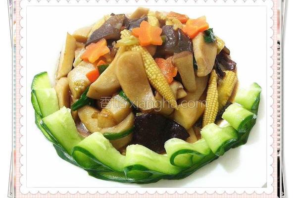 蚝油杏包菇的做法