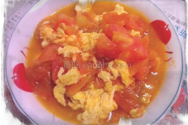 鲜嫩番茄炒蛋的做法