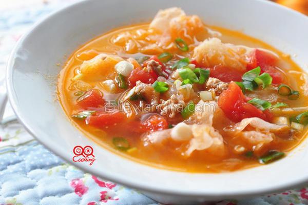 番茄银耳汤的做法