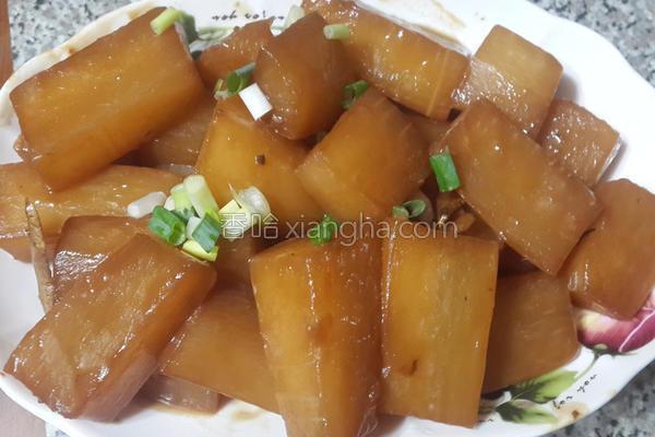 蚝油焖萝卜的做法
