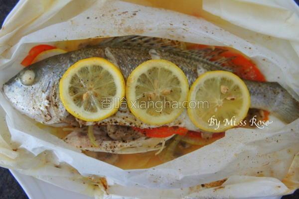 纸包烤鲈鱼的做法