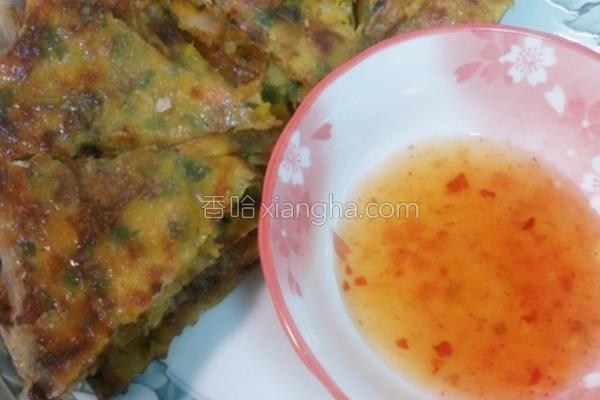 南瓜虾饼的做法