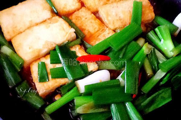 葱烧鸡蛋豆腐的做法