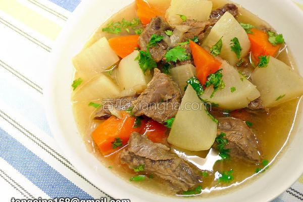 意式香草炖牛肉的做法