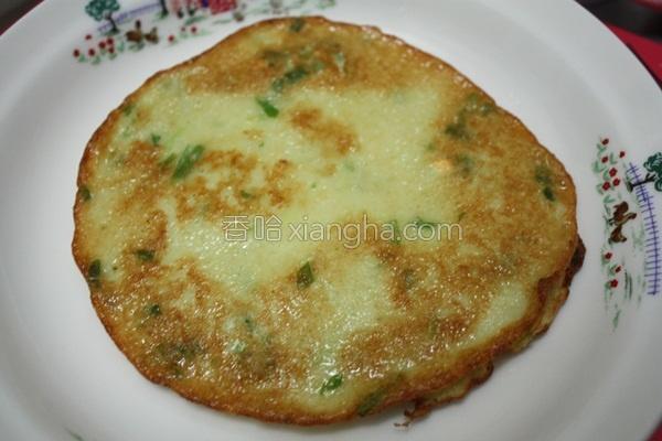 马铃薯葱煎饼的做法