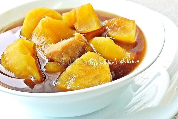 黑糖姜汁地瓜汤的做法