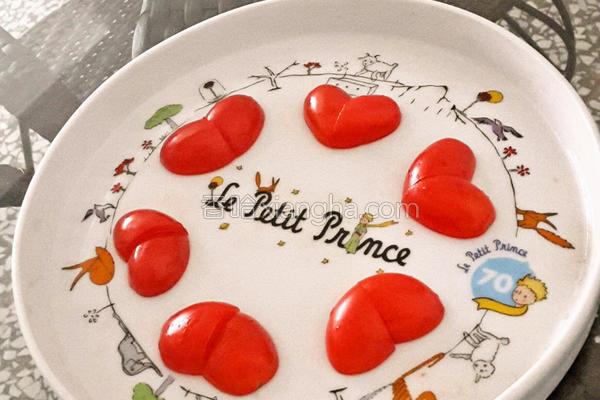 爱心番茄的做法