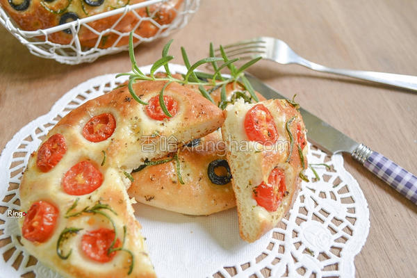 佛卡夏面包的做法