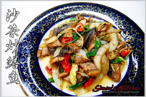 沙茶炒鳝鱼的做法
