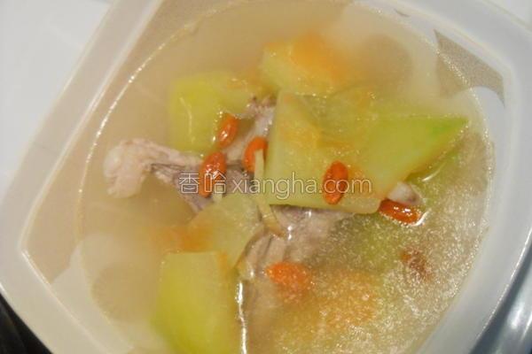 排骨西瓜汤的做法