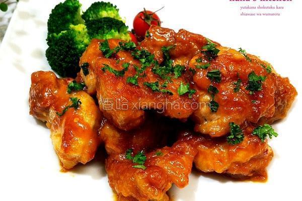 日式味噌淋酱鸡块的做法