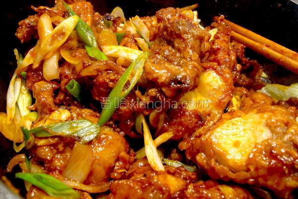 韩式辣酱鸡的做法