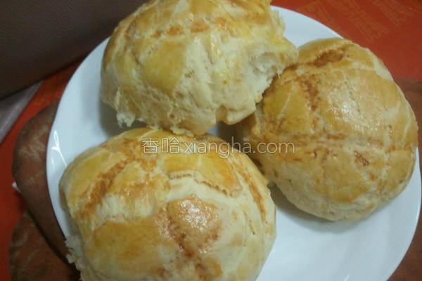 汤种波罗面包的做法