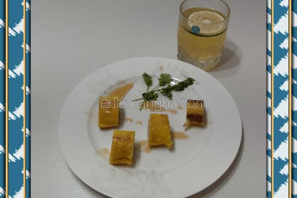 土司香蕉卷的做法