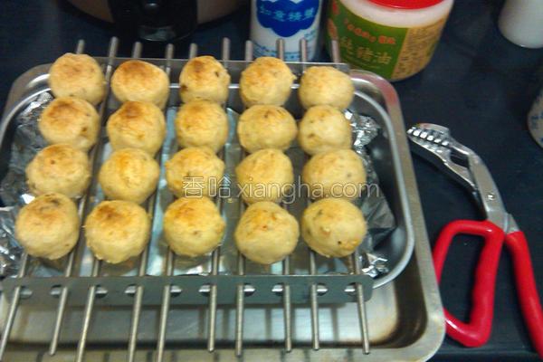 烤五味贡丸的做法