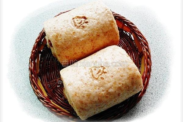 红麹全麦馒头的做法