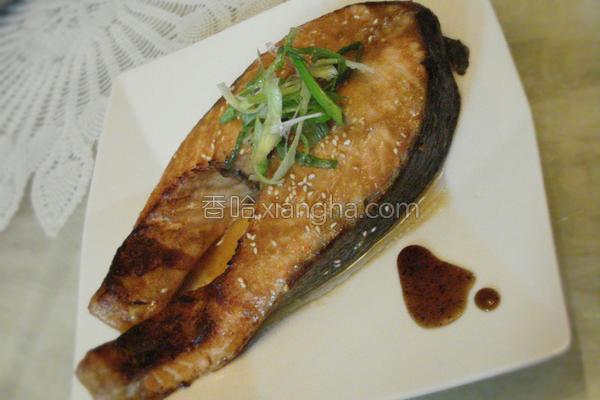 味噌烤鲑鱼的做法
