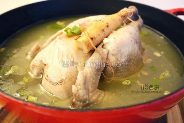 韩国人参鸡汤的做法