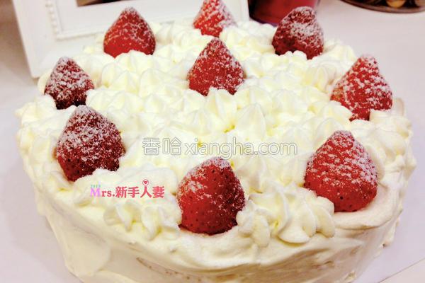 草莓甜心海绵蛋糕的做法
