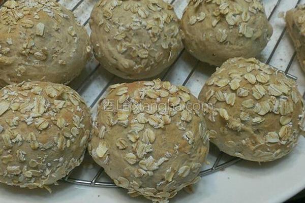 燕麦小餐包的做法