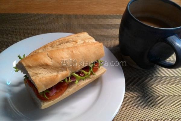 BLT三明治的做法