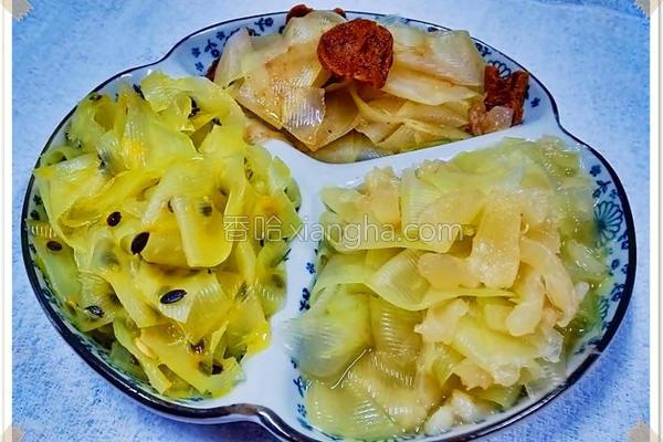 味酿青木瓜的做法