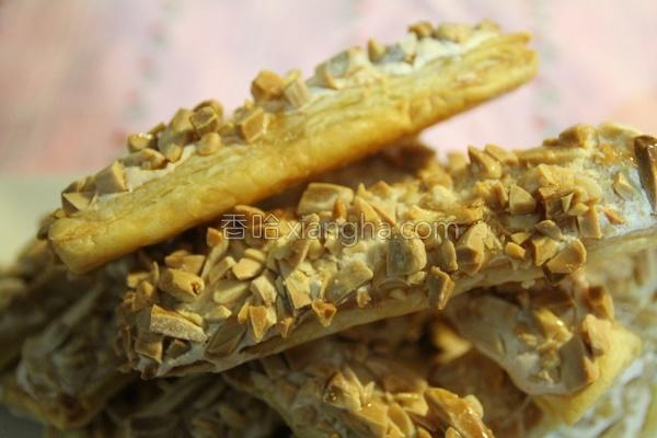 枫糖杏仁酥的做法