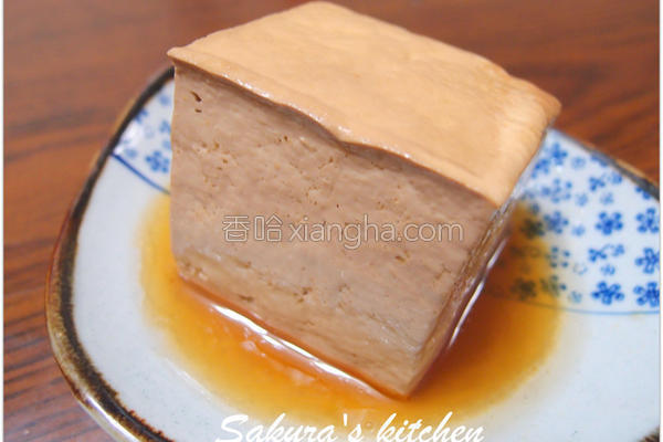 古早味卤豆腐的做法