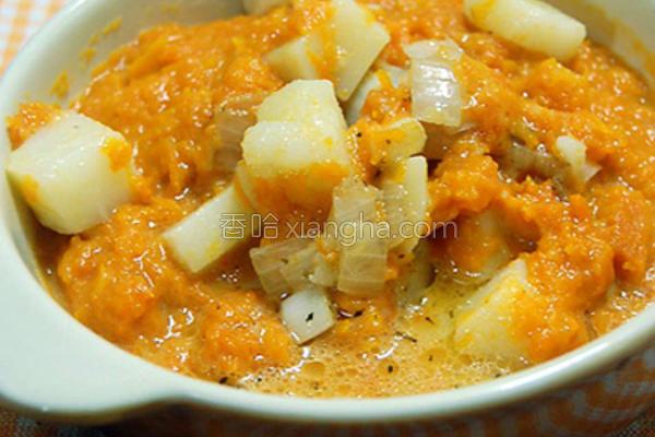 马铃薯南瓜汤的做法